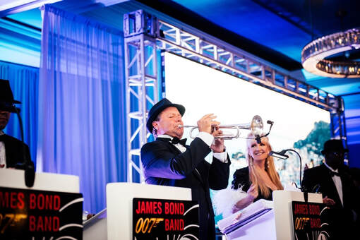 James Bond Band, James Bond tribute band, James Bond theme band, James Bond Orchestra, James Bond Entertainment, James Bond theme band, James Bond theme entertainment, Orlando, Florida, Tampa, Sarasota, Saint Petersburg, US, West Palm Beach, Marco Island, Boca Raton, Vero Beach, Fort Lauderdale, Miami, Fort Myers